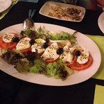 Mozzarella Buffala with tomato