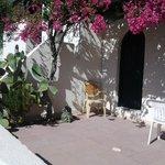 Die Terrasse von Bungalow 206