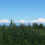 DEnali from Talkeetna Alaska Lodge