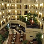 view inside the hotel