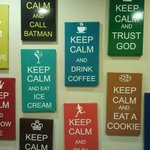 Keep Calm wall decorations