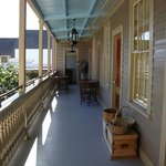 The front veranda
