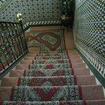 Accès aux chambre par escalier