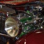 1931 Duesenberg Model J Double Cowl Phaeton Engine