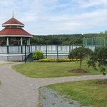 Gazebo down by the lake