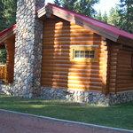 Trapper's Cabin at Baker Creek Sept 2013