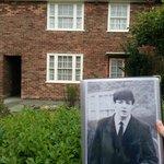 a casa em que Paul morou , hj Patrimônio Histórico do National Trust