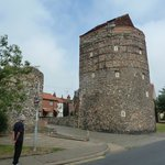 Medieval town wall