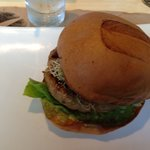 Greenbird Turkey avocado burger