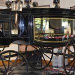 One of the Acutal Horse Drawn Hearse that Carried President Lincoln
