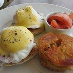 Eggs Benedict...very good