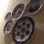 The Delft pottery plates
