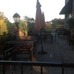 Beautiful outdoor dining!