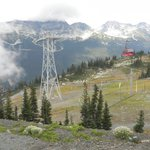 View of Peak 2 Peak Gondola