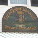 صورة فوتوغرافية لـ Cold Spring Grange Restaurant