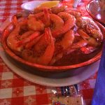 Bowl of peel-n-eat shrimp!