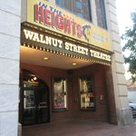 Entrance to The Walnut Street Theater