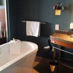 Bathroom with duckie!