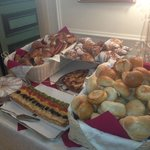 Breads and pasteries (just a sampling of what was offered)