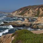 The coast...