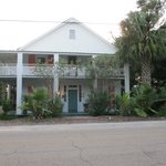 Front view of The Old Hotel at Carrabelle