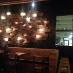 Awesome rusted licence plate light fixture