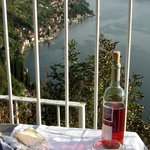 Happy Hour in garden area.