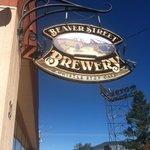 Beaver Street Brewery sign