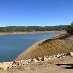 lake only 300 yards away