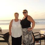 Margaret and Me on our first Holiday together