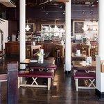 Inside the Albany pub, Great Portland Street