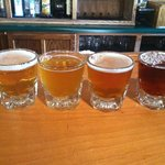Flagstaff Brewing Co. Beer sampler
