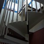 Yes, I dared to climb the spiral staircase.  This is one of the tallest homes around and it has