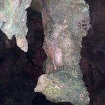 Inside of one of the caves on Cayman Brac