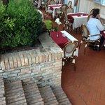 Breakfast al Fresco by the gardens