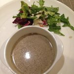 Mushroom soup was authentic. Thick and Great!