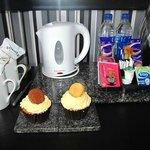 Cupcakes de bienvenida