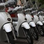 I nostri scooter pronti per le consegne
