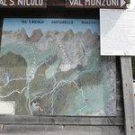 Val de San Nicolo -map