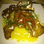 MmmmMMMmm delicoius couscous with lamb