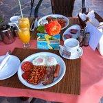My birthday breakfast at Dina's