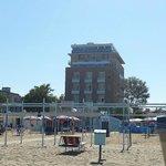 Strandseite zu Hotel