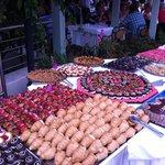 Le buffet dessert du mercredi