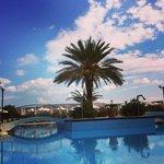 Notre vue de la piscine