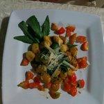 dinner - excellent gnocchi
