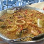 Paella de Menú