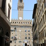 Notre groupe devant le Palazzo Vecchio