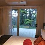 Room 17, bedroom overlooking forest aspect