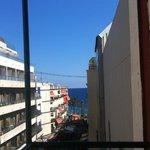 View from Balcony towards beach