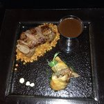 Lamb cooked 2 ways, delicious jus